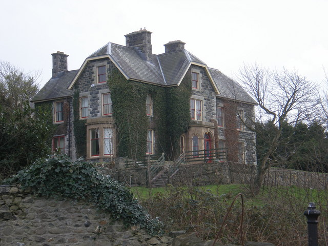 Ty Mawr main house.