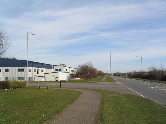 Steel road, Corby