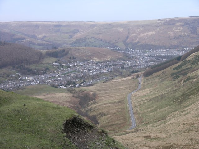 View towards Treorchy