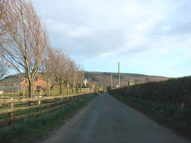 Unclassified road leading from the A19  to Ingleby Arncliffe.