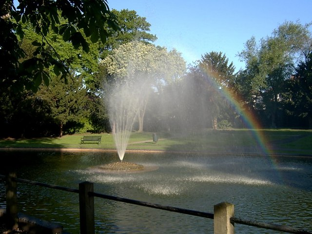 The fountain at Butter Hill