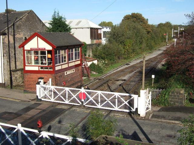 Ramsbottom Signal Box and Level Crossing