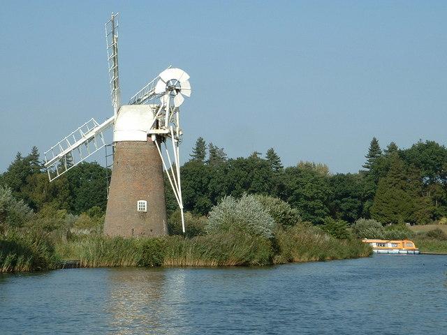 Turf Fen Drainage Mill