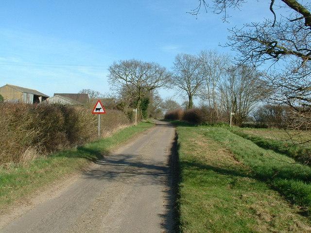 Bartholomews Lane Wenhaston