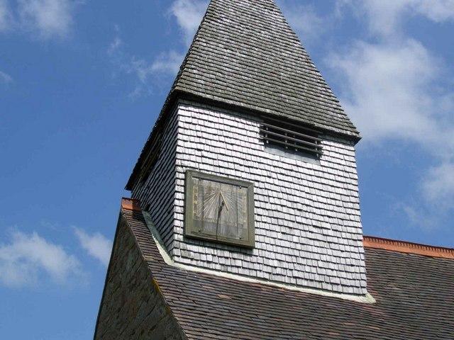 St Mary's Church, Alfrick - sundial