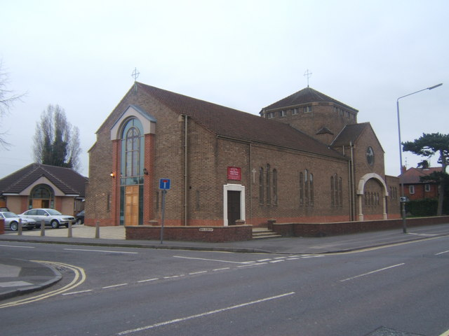 English martyrs catholic church, London road Alvaston