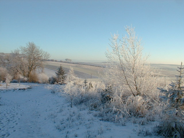 A frosty day at Newton of Cairnhill