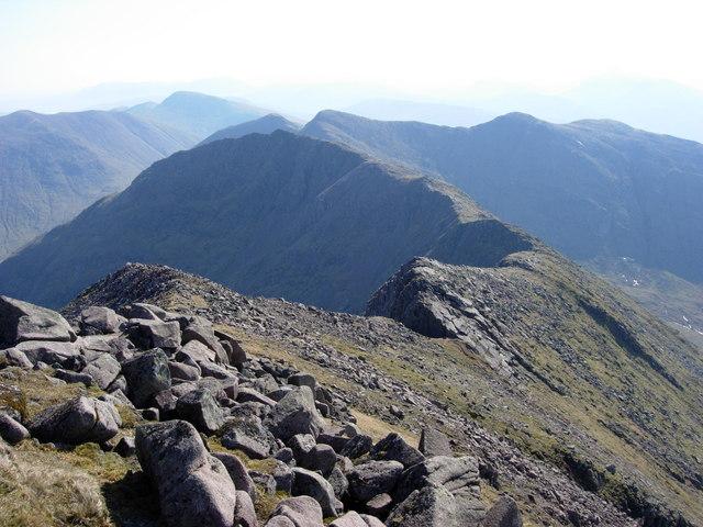 Ben Cruachan ridge