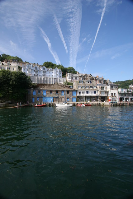 West Looe from East Looe