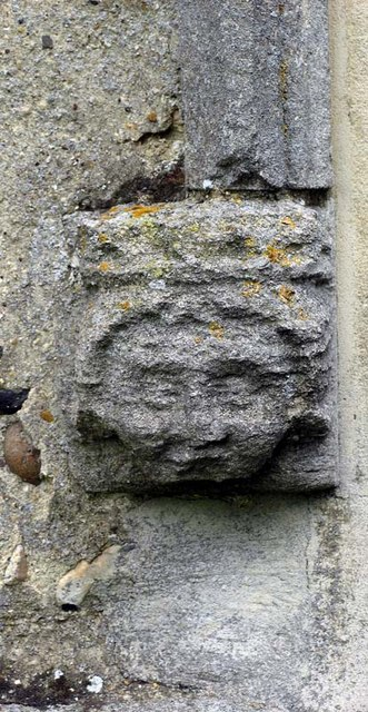 St Mary the Virgin, Albury, Herts - Label head