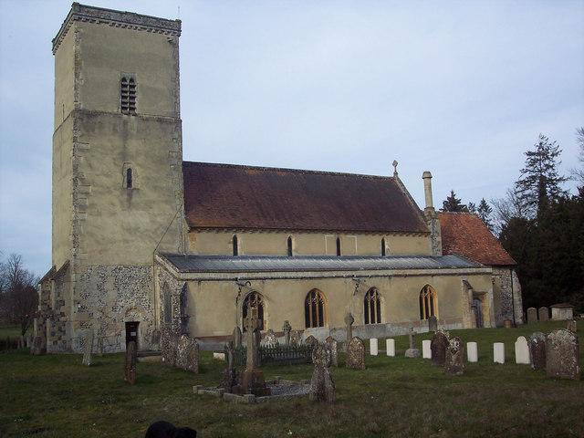 All Saints Church, Netheravon