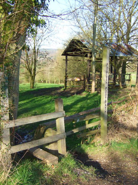 Footpath and Barn