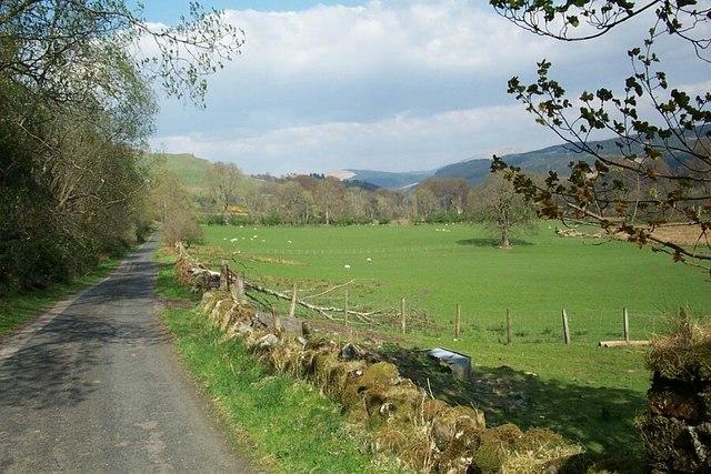 West Road, Glendaruel, at the rear of the caravan park