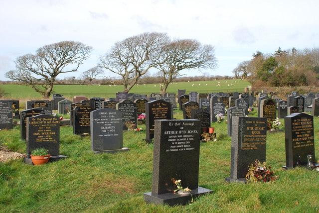 Mynwent Llanystumdwy Cemetery