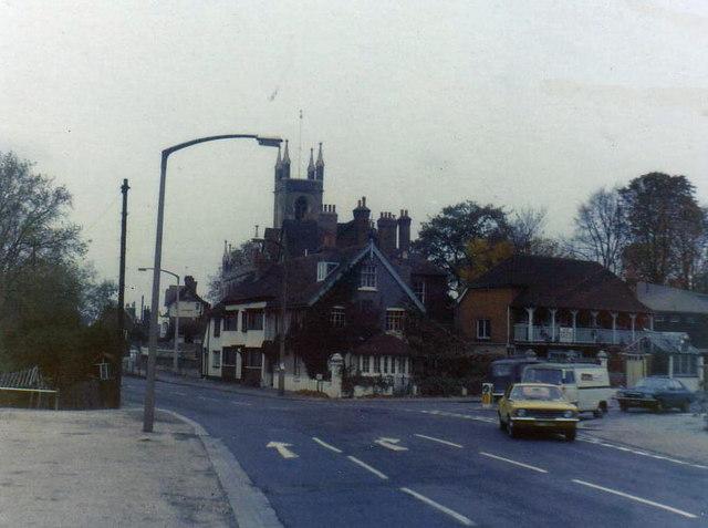 Hampton in 1974