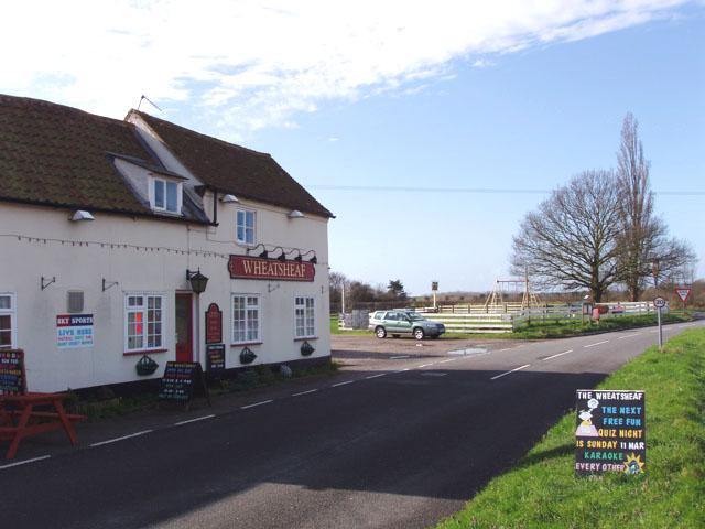 The Wheatsheaf pub at The Heath