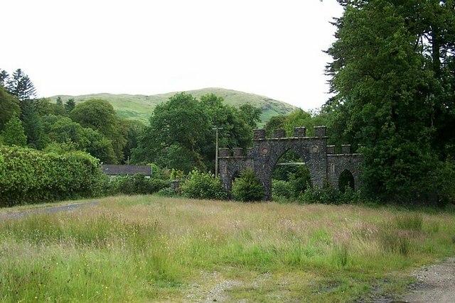 The Gate of Glendaruel House