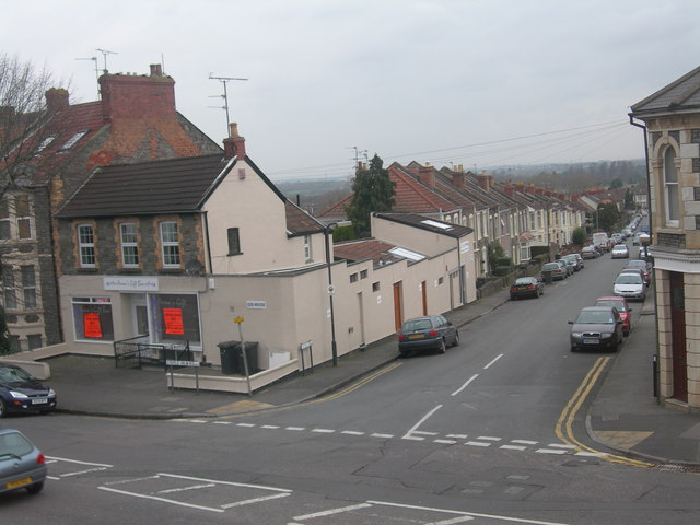 Looking down Cassell Road, Staple Hill