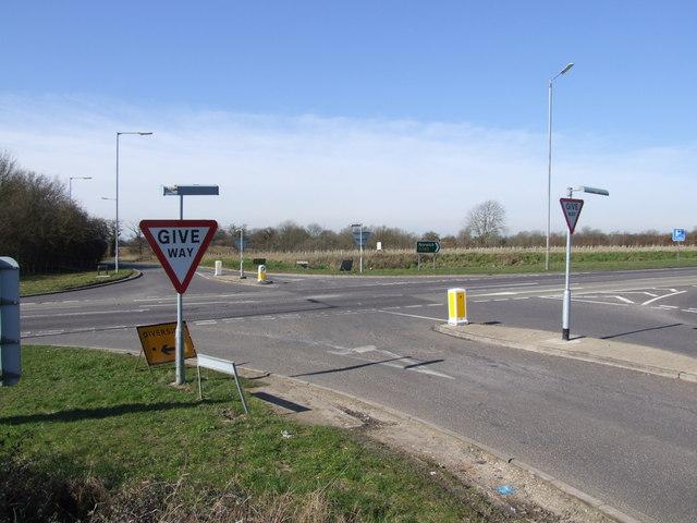 Busy Crossroads