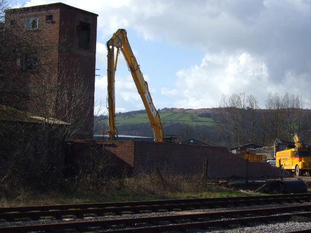 Demolition of Cornmill