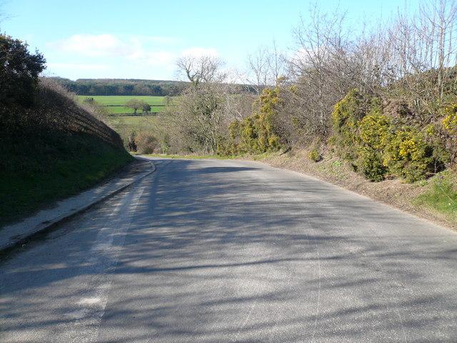 Birkin Lane - Junction with Bolehill Lane