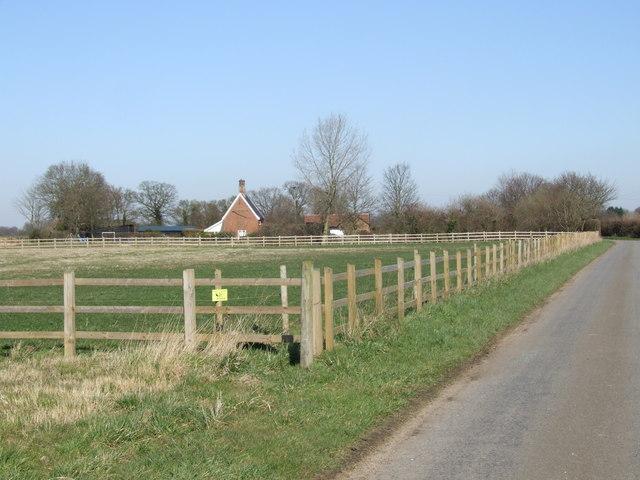 Paddock at Gresham Farm, Semere Green