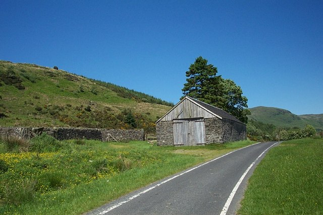 Old barn on West Road, Glendaruel