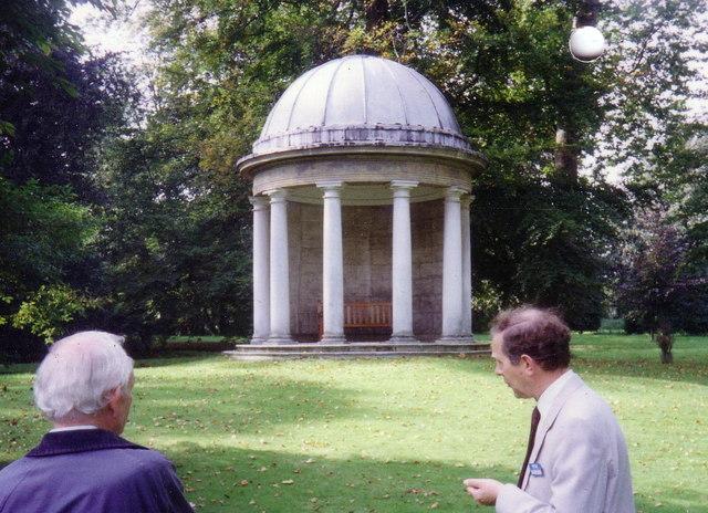Gazebo in the grounds of Bushy House
