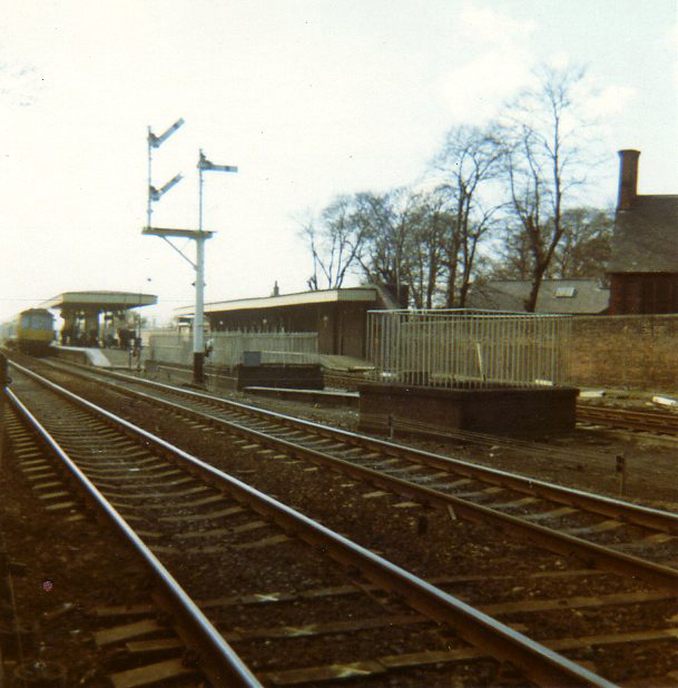 Huyton Station, about 1970