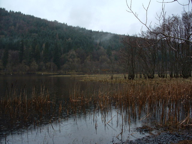North end of Dubh Loch