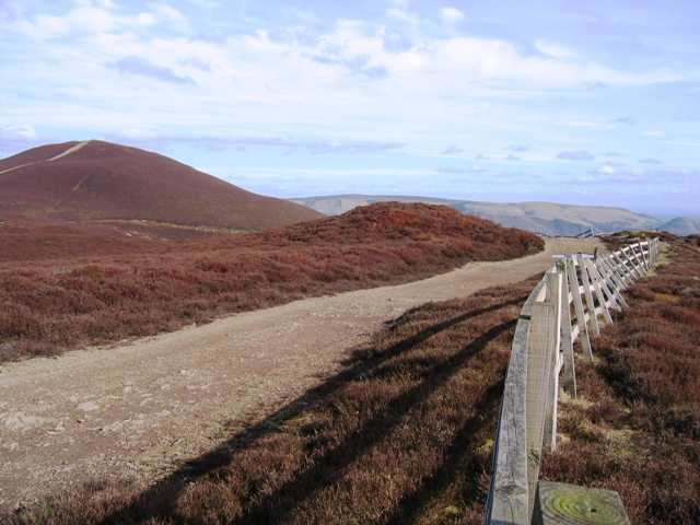 Track to Moel Morfydd and Failing Fence