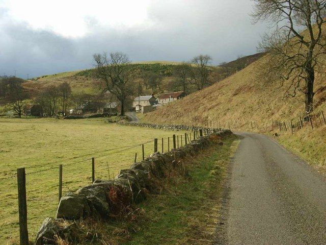 Auldallan on the road to Balintore