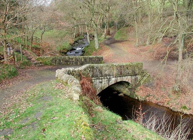 Wade Bridge, Luddenden Brook