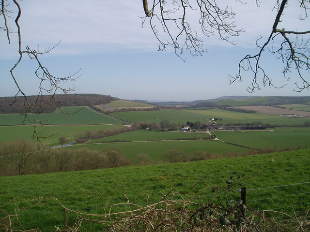 Downland of the upper Meon Valley