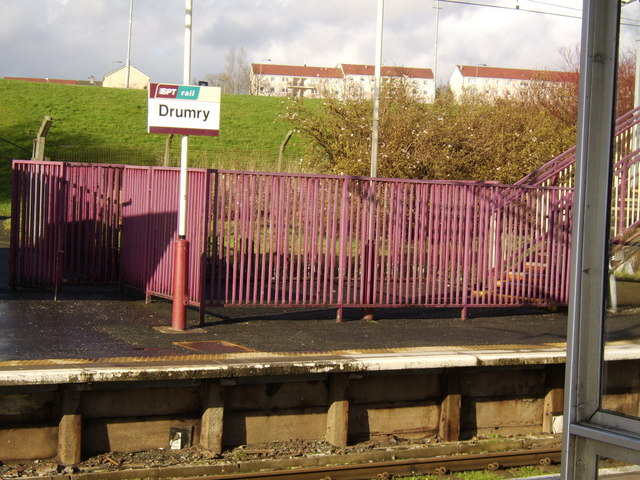 Drumry train station
