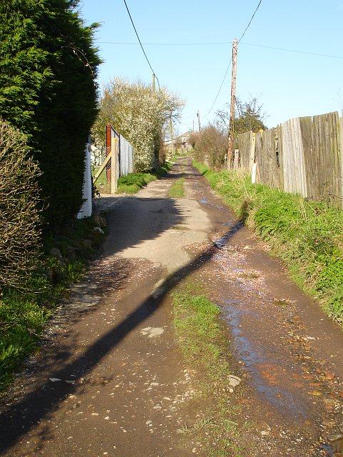 Lane to Brambledown