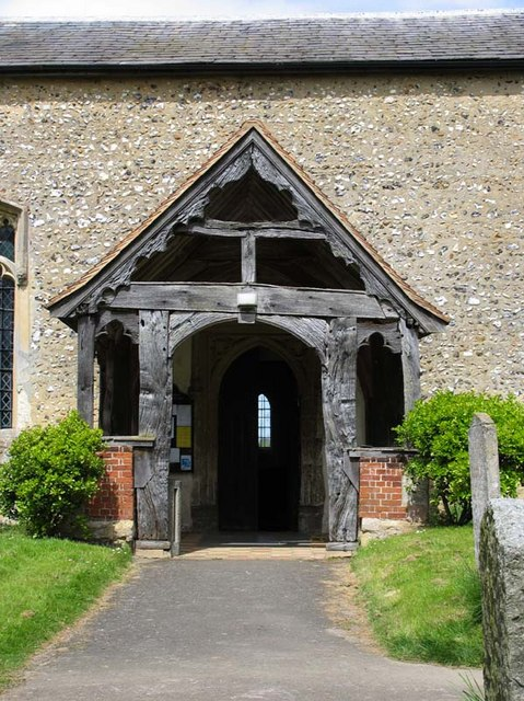 St Cecilia, Little Hadham, Herts - Porch