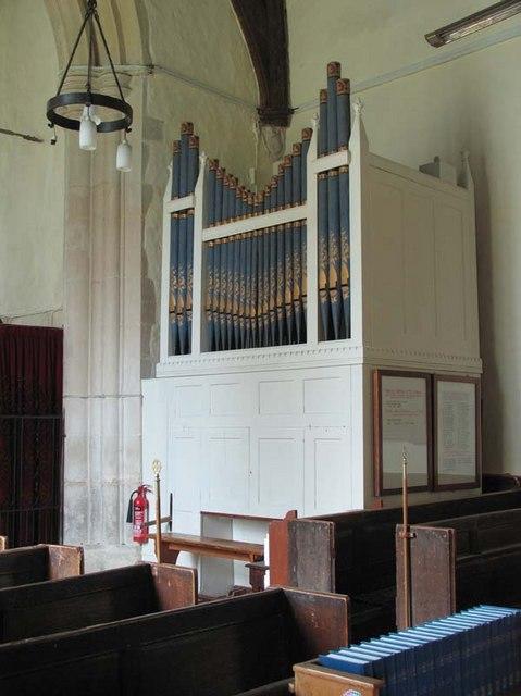St Cecilia, Little Hadham, Herts - Organ