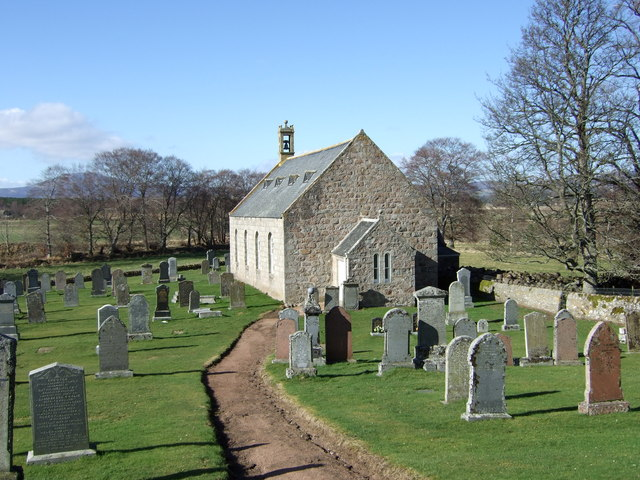 Access path to Coull kirk