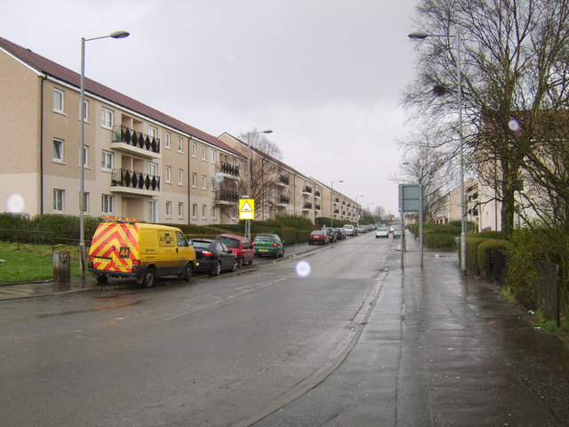 View along Drumry Road East