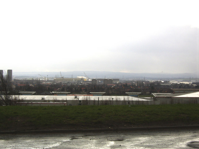 Glasgow from Drumchapel
