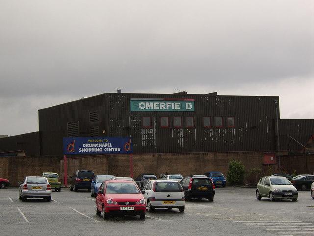 Drumchapel shopping centre