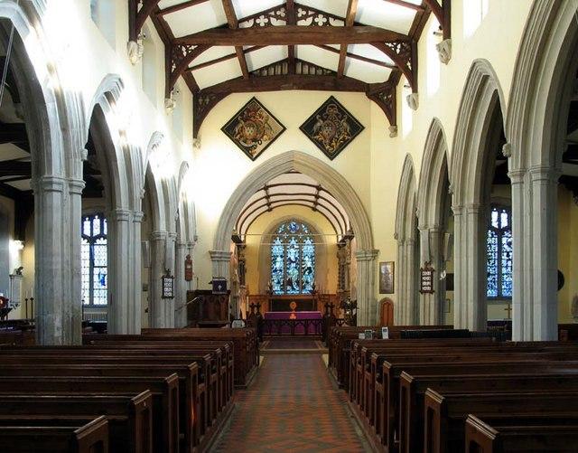 St Mary Magdalene, Barkway, Hertfordshire - East end