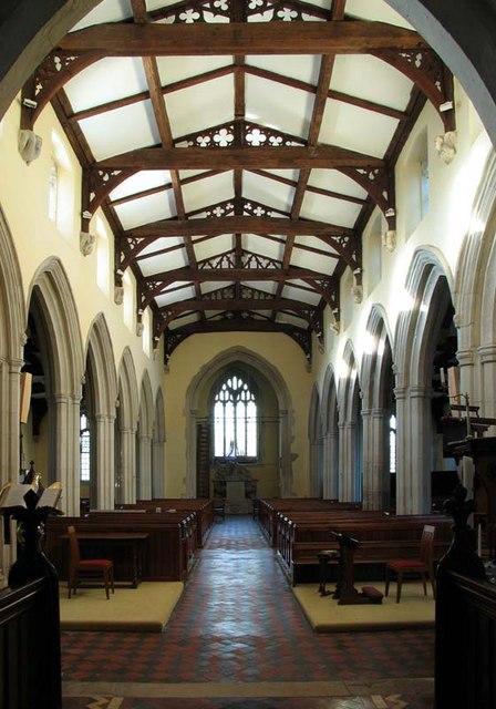 St Mary Magdalene, Barkway, Hertfordshire - West end