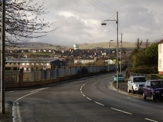 View along Garscadden Road, Drumchapel