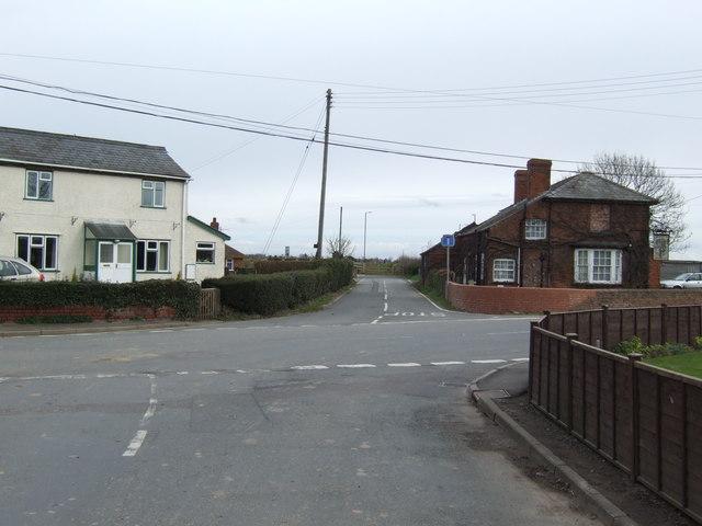 Stretton Sugwas crossroads