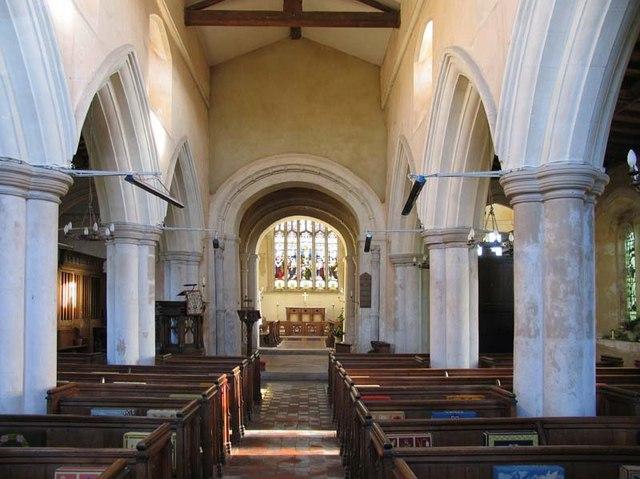 St George, Anstey, Hertfordshire - East end