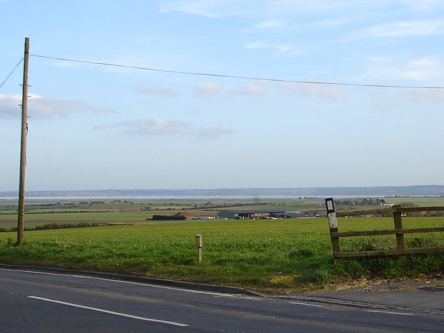 View across the Swale