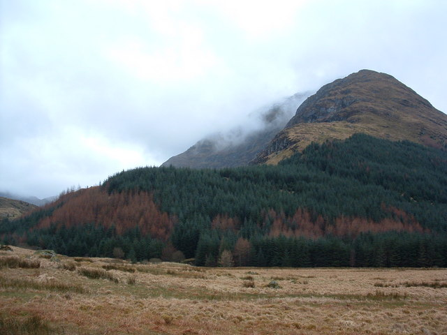 Towards Beinn an Lochain