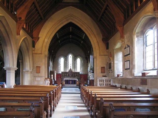 St Mary, Hertingfordbury, Herts - East end